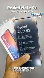 Remi Note 9s 128GB Branco Lacrado
