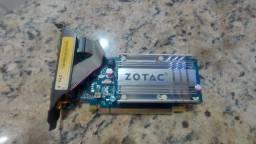 Placa de Video Zotac GeForce 7200 GS 256 Mb