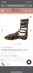 Sandália couro linda 37((150$))