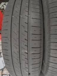 2 pneus 195/65 aro 15 semi-novo