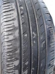 2 pneus 195 55 R16 Meia vida
