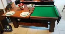 Mesa de bilhar com opcionais tampo e bancos!!