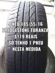 Pneu 185/55/16 Bridgestone turanza . Disk entrega