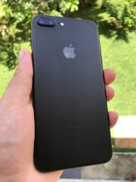 IPhone 7 Plus 128Gb Black Impecável Sem marcas de uso