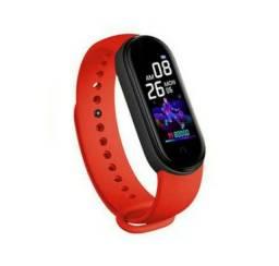 Smartwatch m5 vermelho