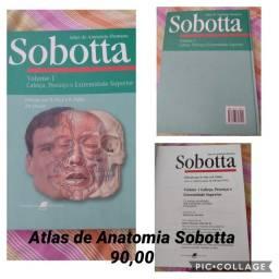 Atlas de Anatomia Sobotta-90,00