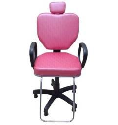 Cadeira para Salão Cabeleireiro Poltrona