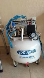 Compressor odontológico schuster