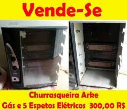 Churrasqueira Elétrica e Gás Arke 5 Espetos!