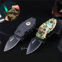 Isqueiro Recarregavel e Canivete Automatico