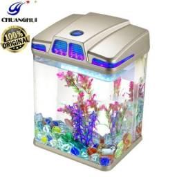 Aquário Ecológico - Mini Eco Aquarium ( Novo )