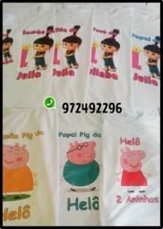 Camisetas personalizadas, usado comprar usado  Mauá