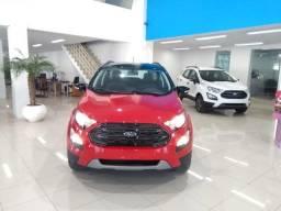 Nova Ecosport Automática Ano 2020 C/ Teto Preto Zero km - 2019