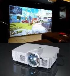 Projetor Optoma Gt1080 Darbee 3d Dlp Short - Melhor Que 4k! Opção 12x