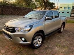 Toyota Hilux 2017 estado de nova - 2017