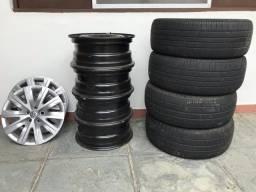 Rodas e pneus Aro 15