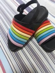 Melissa Rainbow Sandália - 26/27
