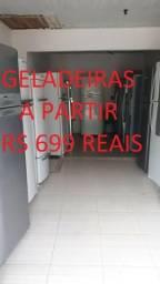 Geladeiras a partir 699 reais.aberto amanha ate 12 horas