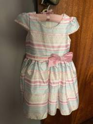 Vestido infantil Petit Cherie tamanho 4(festa) Impecavel!!