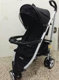 Carrinho de Bebê Umbrella Delux Original Preto Cosco