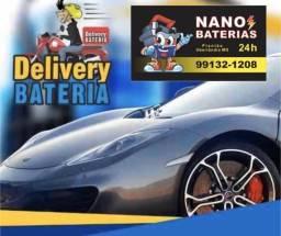 Nano Baterias 24 horas - Atendimento em Domicílio