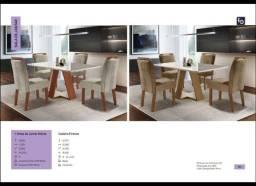 Mesa de Jantar Grécia - Cadeiras Firenze