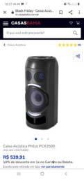 Caixa acustica philco PX 350