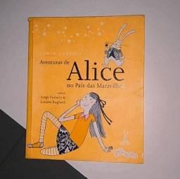 Livro Aventuras de Alice no País das Maravilhas