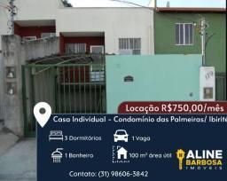 Casa para locação em Ibirité
