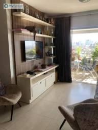Apartamento com 3 quartos à venda, 91 m² por R$ 460.000 - Jardim Goiás - Goiânia/GO