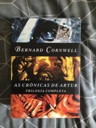 Box Trilogia ?As Crônicas de Artur? do Bernard Cornwell
