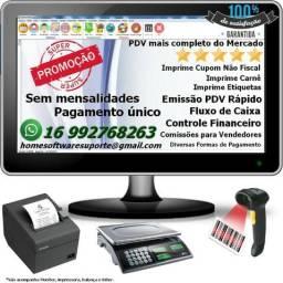 Sistema De Vendas, Controle De Estoque, PDV, Gestão Vendas, Carnê, Financeiro