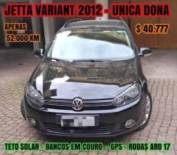 Jetta variant 2012 única dona - 2012