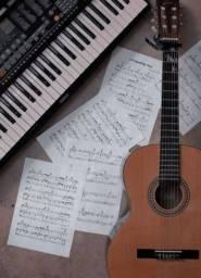 Aulas de canto, violão popular e clássico, teclado, piano, musicalização infantil