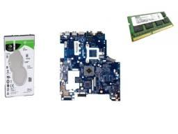 Placa Mãe Lenovo G485 Qawge La-8681p +hd 1tb Memória 4gb
