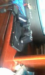 Playststion 2 bom estado cm um controle um memory card e 2 jogos