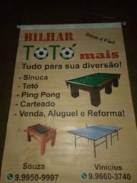 Venda de sinuca, Totó,ping pong, carteado! OPORTUNIDADE !!!