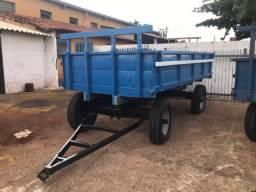 Carreta Agrícola 4 rodas - 4 toneladas