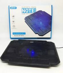 Suporte Base para Notebook com Cooler Knup KP-9014 até 15.5