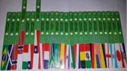 Palitos De Picolé Stickibon Série Copa Do Mundo 1998 Kibon