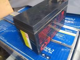 Baterias CSB 12v 7.2 Ah alarme cercas etc