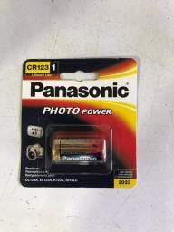 Bateria 3V Cr123 Photo Power Lithium - Panasonic