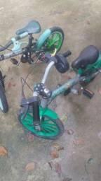 Bicicletas precisa de reparos 2 por 170 reais