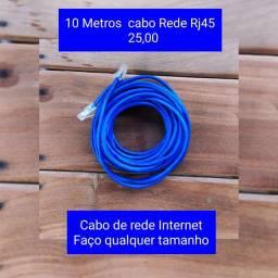Cabo de Rede Internet RJ 45