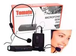 COD: 0717 Microfone Lapela Sem Fio Profissional Wireless Headset 50 Mt