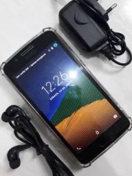 Motorola Moto G5 de 32 Gb Com Biometria Na Cor Cinza Completo Novinho...