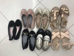 7 pares de sapato por 100,00