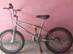 Bicicleta croisinha cromada pneus novo