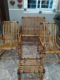Vendo cadeira de bambu
