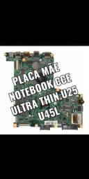 Placa Mãe Notebook Cce Ultra Thin U25 U45l<br><br>E EMACHINES